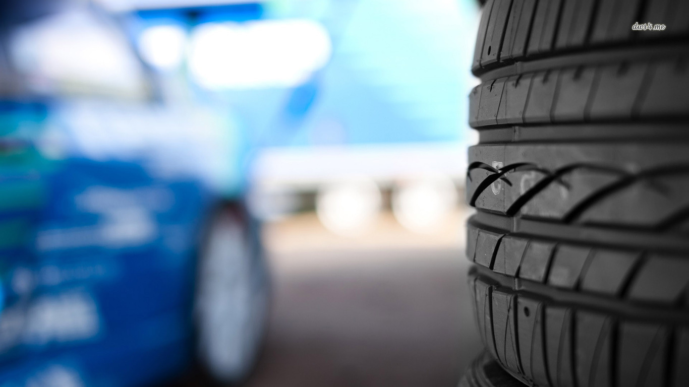 Tire upclose